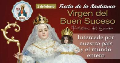 Fiesta de Nuestra Señora del Buen Suceso, Patrona del Ecuador y de La Voz de María.