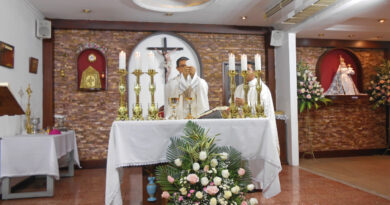 Presentación del señor, día de nuestra señora del buen suceso de la purificación de la candelaria y misa por los 20 años de Radio La Voz de María.