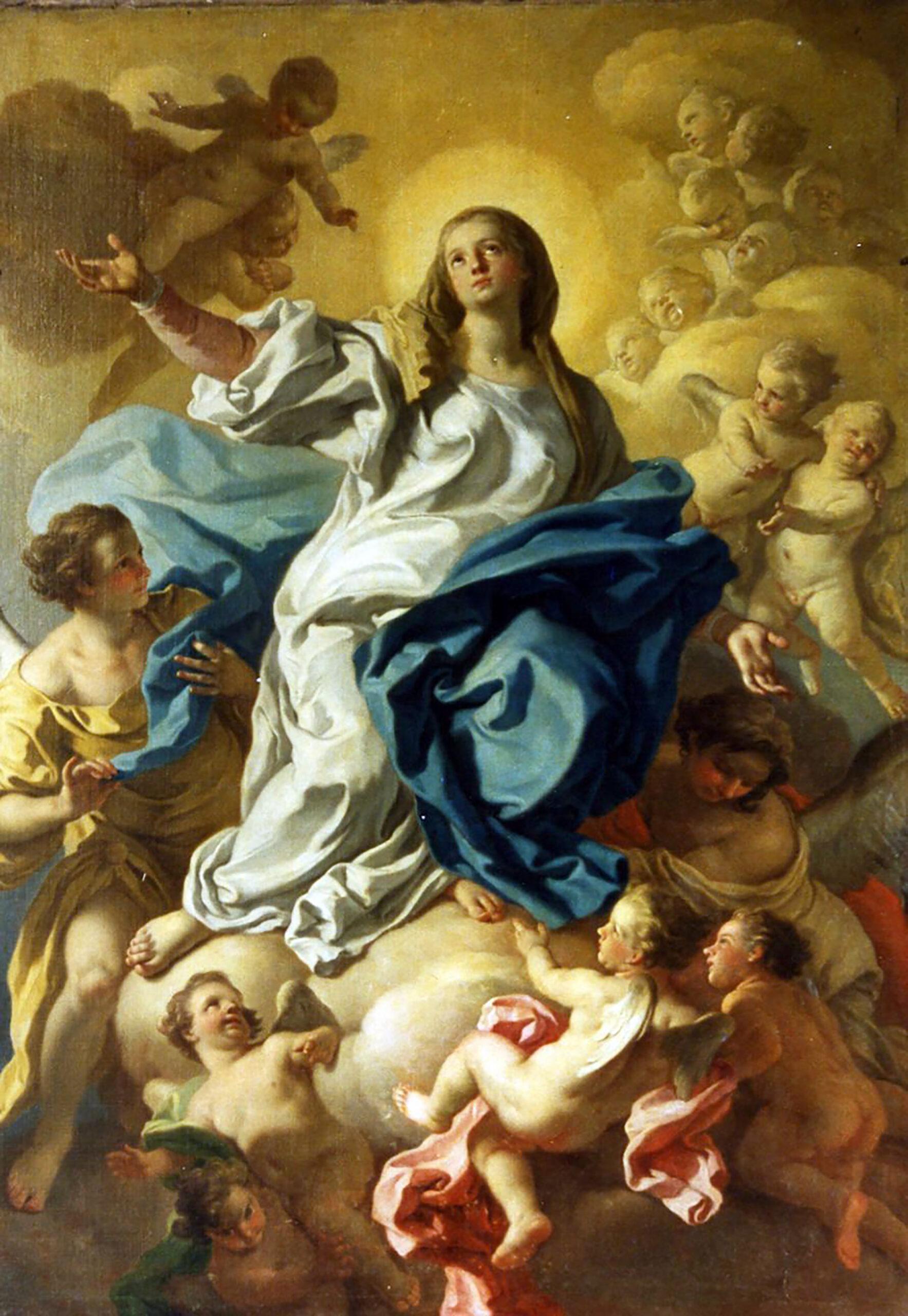 La Asunción de la Virgen María – 15 de Agosto