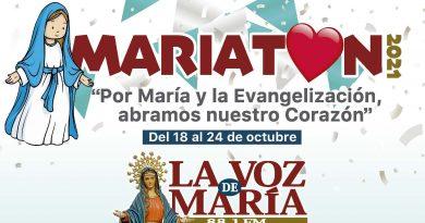 Mes de las misiones, mes de Mariatón