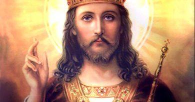 Nuestro señor Jesucristo Rey del Universo