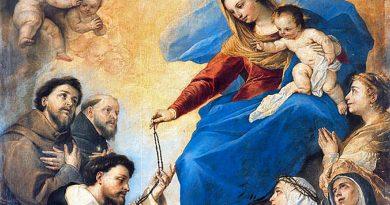 Bienaventurada Virgen del Rosario – 7 de octubre